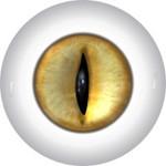 Slit Pupil Doll Eyes 7KK