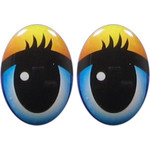 Oval Eyes for Toys GO-106.4