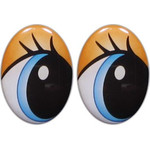 Oval Eyes for Toys GO-123.3