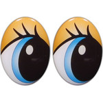 Oval Eyes for Toys GO-123.4