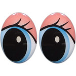 Oval Eyes for Toys GO-124.6