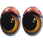 Oval Eyes for Toys GO-12K