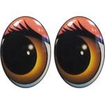 Овальные глаза для игрушек GO-12K