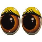 Овальные глаза для игрушек GO-13