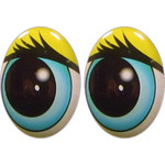 Oval Eyes for Toys GO-15
