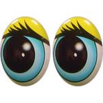 Овальные глаза для игрушек GO-15