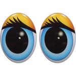 Овальные глаза для игрушек GO-18.2