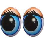 Овальные глаза для игрушек GO-18.3