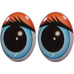 Овальные глаза для игрушек GO-18.4
