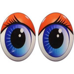 Oval Eyes for Toys GO-1K
