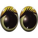 Овальные глаза для игрушек GO-20