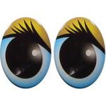 Овальные глаза для игрушек GO-21.2