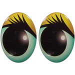 Oval Eyes for Toys GO-23