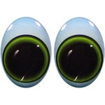Oval Eyes for Toys GO-25L
