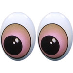 Oval Eyes for Toys GO-35