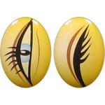 Овальные глаза для игрушек GO-3L4L