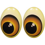 Oval Eyes for Toys GO-43