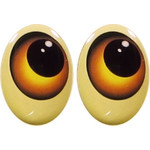 Oval Eyes for Toys GO-43V
