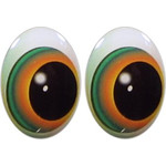 Oval Eyes for Toys GO-50