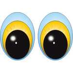 Oval Eyes for Toys GO-51