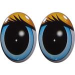 Овальные глаза для игрушек GO-6.2