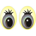 Oval Eyes for Toys GO-63.1