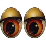 Oval Eyes for Toys GO-72.2