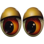 Oval Eyes for Toys GO-72