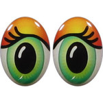 Oval Eyes for Toys GO-75AB