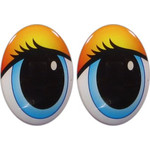 Oval Eyes for Toys GO-76