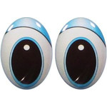 Oval Eyes for Toys GO-83