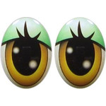 Oval Eyes for Toys GO-87.3