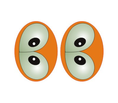 Oval Eyes for Toys GO-13L
