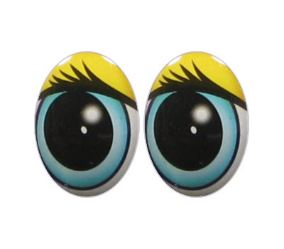 Oval Eyes for Toys GO-15.1