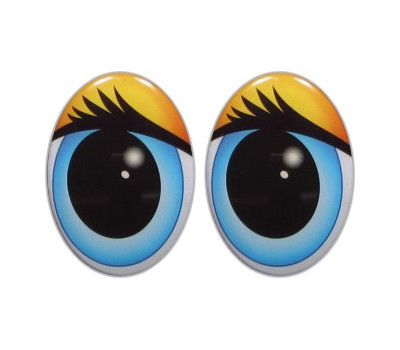 Oval Eyes for Toys GO-18.2