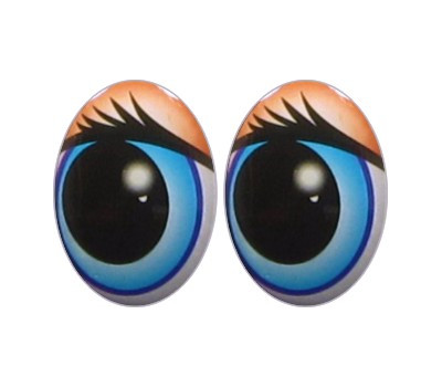 Oval Eyes for Toys GO-18.3