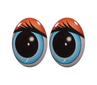 Oval Eyes for Toys GO-18.4