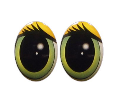 Oval Eyes for Toys GO-8.2